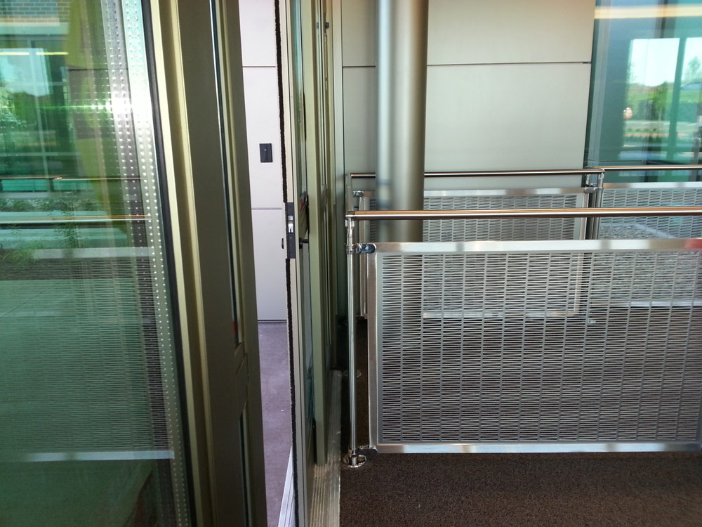 Central Industrial Sheet Metal Handrail Systems Project